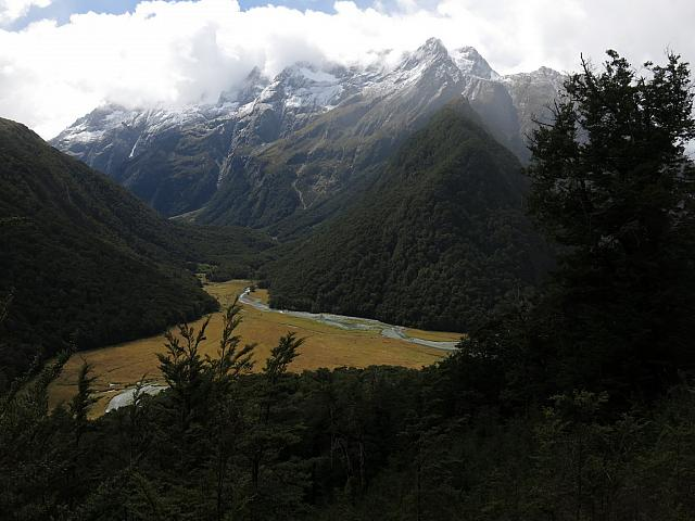 View from Landslide near Routeburn Falls Hut