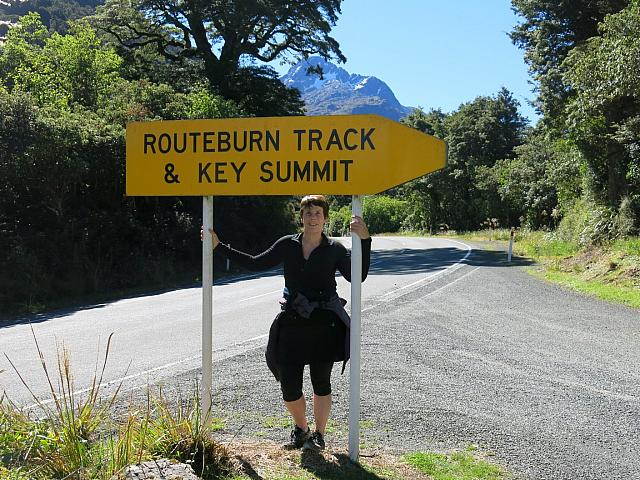 Megan and Track Sign
