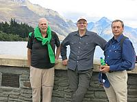 Kirk, Chris and John in Queenstown